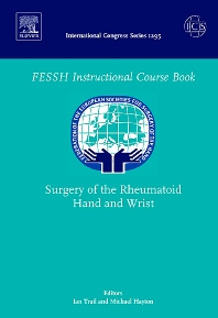 Cover image for Surgery of the Rheumatoid Hand and Wrist