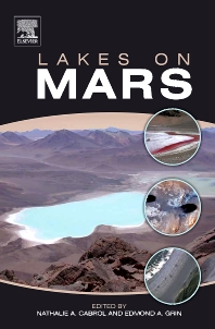 Cover image for Lakes on Mars
