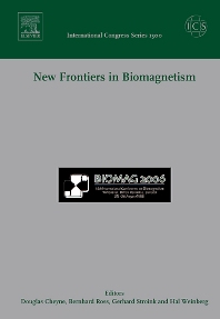 Cover image for New Frontiers in Biomagnetism, ICS 1300
