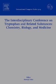 Cover image for The Interdisciplinary Conference on Tryptophan and Related Substances: Chemistry, Biology, and Medicine