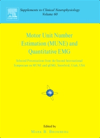 Cover image for Motor Unit Number Estimation and Quantitative EMG