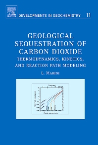 Cover image for Geological Sequestration of Carbon Dioxide