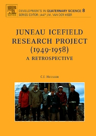 Cover image for Juneau Icefield Research Project (1949-1958)