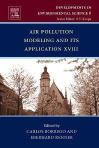 Cover image for Air Pollution Modeling and its Application XVIII