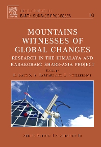 Cover image for Mountains: Witnesses of Global Changes