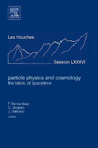 Cover image for Particle Physics and Cosmology: the Fabric of Spacetime