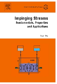 Impinging Streams, 1st Edition,Yuan Wu,ISBN9780444530370
