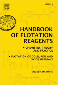 Handbook of Flotation Reagents: Chemistry, Theory and Practice - 1st