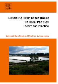 Cover image for Pesticide Risk Assessment in Rice Paddies: Theory and Practice