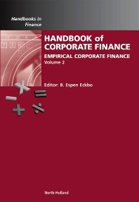 Cover image for Handbook of Empirical Corporate Finance