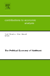 The Political Economy of Antitrust - 1st Edition - ISBN: 9780444530936