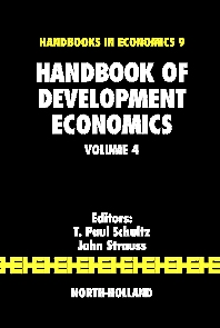 Handbook of Development Economics, 1st Edition,T. Schultz,John Strauss,ISBN9780444531001