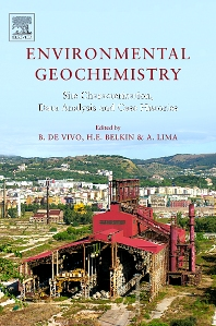 Cover image for Environmental Geochemistry: Site Characterization, Data Analysis and Case Histories