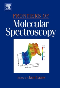 Cover image for Frontiers of Molecular Spectroscopy