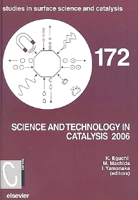 Science and Technology in Catalysis, 1st Edition,K Eguchi,M Machida,I Yamanaka,ISBN9780444532022