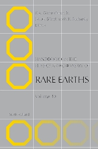 Handbook on the Physics and Chemistry of Rare Earths - 1st Edition - ISBN: 9780444562470, 9780080932576
