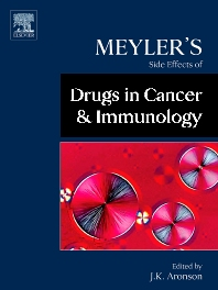 Meyler's Side Effects of Drugs in Cancer and Immunology, 1st Edition,Jeffrey K. Aronson,ISBN9780444532671