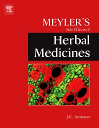 Meyler's Side Effects of Herbal Medicines, 1st Edition,Jeffrey K. Aronson,ISBN9780444532695