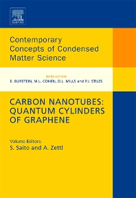 Carbon Nanotubes: Quantum Cylinders of Graphene, 1st Edition,Susumo Saito,Alex Zettl,ISBN9780444532763
