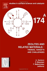 Cover image for Zeolites and Related Materials: Trends Targets and Challenges(SET)