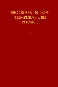 Progress in Low Temperature Physics - 1st Edition - ISBN: 9780444533074, 9780080872957
