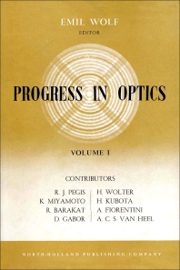 Progress in Optics - 1st Edition - ISBN: 9780444533333, 9780080887647
