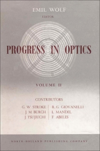Cover image for Progress in Optics