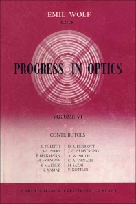 Progress in Optics - 1st Edition - ISBN: 9780444533388, 9780080879864