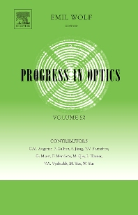 Progress in Optics, 1st Edition,Emil Wolf,ISBN9780444533500