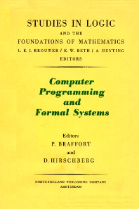 Cover image for Computer Programming and Formal Systems