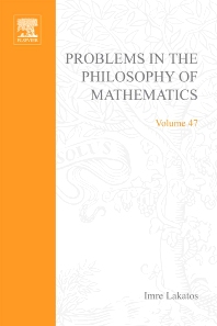 Cover image for Problems in the Philosophy of Mathematics