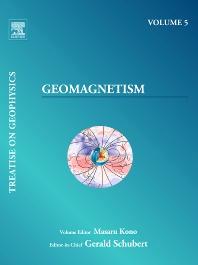 Geomagnetism, 1st Edition,Masaru Kono,ISBN9780444534613