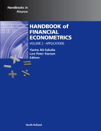 Handbook of Financial Econometrics, Vol 2, 1st Edition,Yacine Ait-Sahalia,Lars Hansen,ISBN9780444535481
