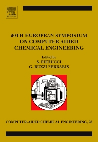 20th European Symposium of Computer Aided Process Engineering - 1st Edition - ISBN: 9780444535696, 9780444535702