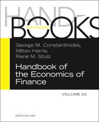 Cover image for Handbook of the Economics of Finance