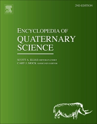 Cover image for Encyclopedia of Quaternary Science