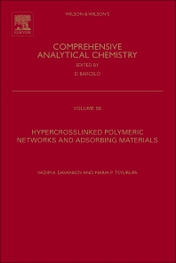 Cover image for Hypercrosslinked Polymeric Networks and Adsorbing Materials