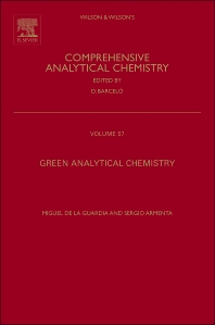 Green Analytical Chemistry - 1st Edition - ISBN: 9780444537096, 9780444537102