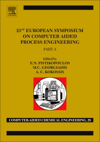 Cover image for 21st European Symposium on Computer Aided Process Engineering