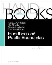 Cover image for Handbook of Public Economics