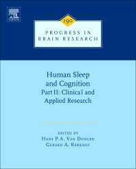 Human Sleep and Cognition, Part II - 1st Edition - ISBN: 9780444538178, 9780444538185