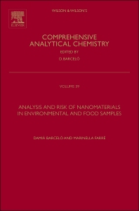 Cover image for Analysis and Risk of Nanomaterials in Environmental and Food Samples