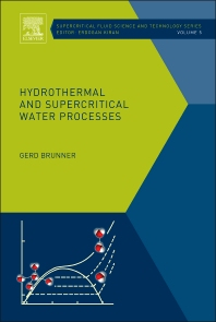 Cover image for Hydrothermal and Supercritical Water Processes