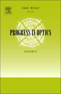 Progress in Optics, 1st Edition,Emil Wolf,ISBN9780444594228