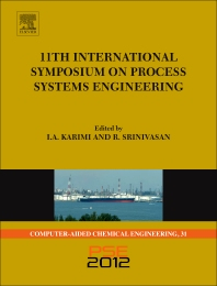 11th International Symposium on Process Systems Engineering - PSE2012, 1st Edition,ISBN9780444595089