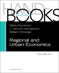 Handbook of Regional and Urban Economics - 1st Edition - ISBN: 9780444595171, 9780444595188