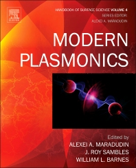 Cover image for Modern Plasmonics
