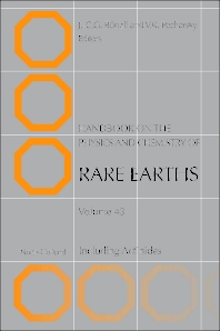 Handbook on the Physics and Chemistry of Rare Earths - 1st Edition - ISBN: 9780444595362, 9780444595348