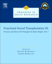 Functional Neural Transplantation III - 1st Edition - ISBN: 9780444595751, 9780444595881