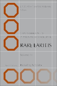 Handbook on the Physics and Chemistry of Rare Earths - 1st Edition - ISBN: 9780444627117, 9780444626950